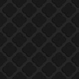 Black textured plastic rounded squares Stock Images
