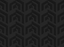 Black textured plastic vertical corner grid Stock Photography