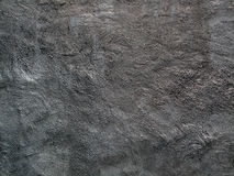 Black Textured Wall Stock Image
