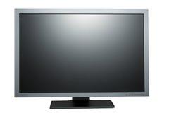 Black tft flat monitor Stock Photography