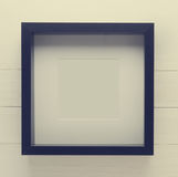 Black Thick picture frame royalty free stock photography