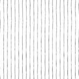 Black thin vertical hand drawn stripes on white seamless vector background texture. Hand drawn doodle lines. vector illustration