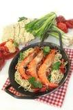 Black Tiger Shrimp Royalty Free Stock Photography
