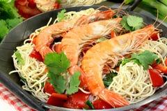 Black Tiger Shrimp Royalty Free Stock Images