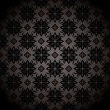 Black tile repeat wallpaper Royalty Free Stock Image