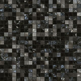Black tileable tiles Royalty Free Stock Photo