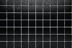 black tiles background Royalty Free Stock Photos