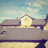 Black Tiles Royalty Free Stock Photography