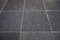 Black Tiles Texture Stock Photo