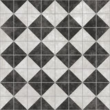 black tiles white Royaltyfri Foto