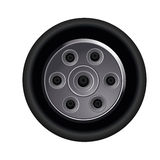 Black tire Stock Photography
