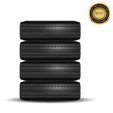 Black tire Royalty Free Stock Photos