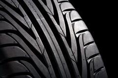 Free Black Tire On Black Royalty Free Stock Image - 2545836