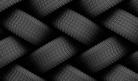 Black tire rubber. Stock Photography