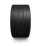 Black tire rubber. Royalty Free Stock Image