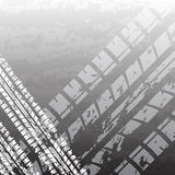 Black tire track Stock Image