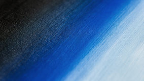 Black to blue gradient. Abstract acrylic painting.  Stock Photography