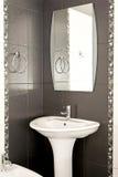 Black toilet Stock Images