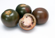 Black tomato Stock Photography