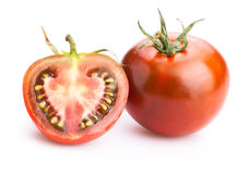 Black tomatoes Stock Images