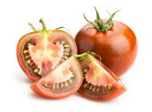 Black tomatoes Stock Image