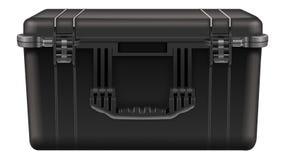 Black tool box Stock Image