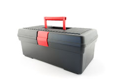 Black toolbox Stock Image