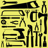 Black tools Stock Photography