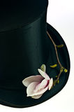Black top hat Royalty Free Stock Images