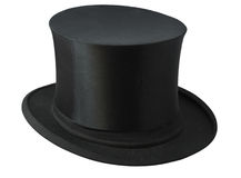 Black Top Hat Royalty Free Stock Photos