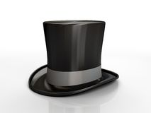 Black top hat Stock Image
