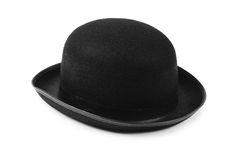 Black tophat top hat Royalty Free Stock Photos