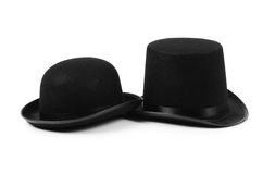 Black tophat top hat Royalty Free Stock Images