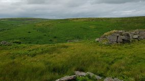 Black Tor ;South Dartmoor& ;, South Brent, Dartmoor National Park royalty free stock image