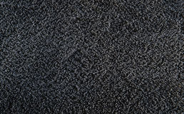 Black towel texture Royalty Free Stock Photos