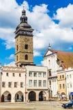 Black Tower-Ceske Budejovice,Czech Republic Royalty Free Stock Photography
