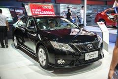 Black toyota camry car Royalty Free Stock Photos