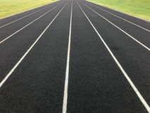 Black Track Lines Stock Photography
