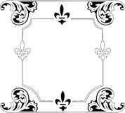 Black traditional frame Royalty Free Stock Image
