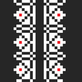 Black traditional pattern Royalty Free Stock Photography