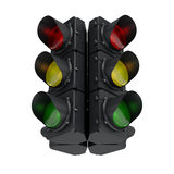 Black Traffic Light Royalty Free Stock Photos