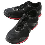 Black trainers Stock Photo