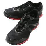 Black trainers Stock Photo