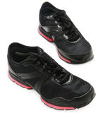 Black trainers Stock Images