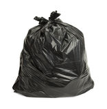 Black Trash Bag Stock Photography