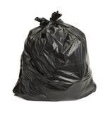 Black Trash Bag Stock Photography