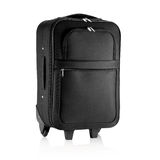 Black travel bag, briefcase Stock Photo
