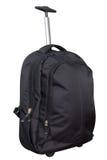 Black travel bag isolated on white Royalty Free Stock Image