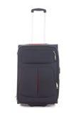 Black travel suitcase isolated on white background Stock Photo