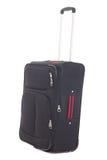 Black travel suitcase isolated on white background Stock Photography